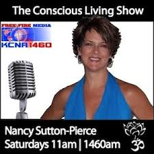 Nancy with The Conscious Living Show
